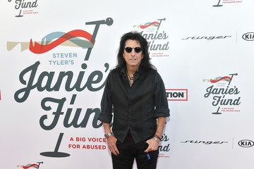 Alice Cooper Steven Tyler And Live Nation Presents Inaugural Gala Benefitting Janie's Fund - Arrivals