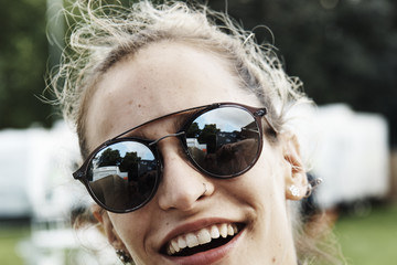 Alice Dellal Ray-Ban Rooms at Barclaycard Presents British Summer Time Hyde Park