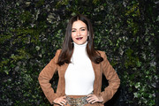 Victoria Justice attends the Alice + Olivia By Stacey Bendet fashion show during February 2020 - New York Fashion Week: The Shows on February 10, 2020 in New York City.