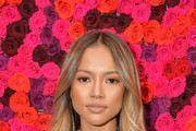 Karrueche Tran attends the Alice + Olivia By Stacey Bendet presentation during New York Fashion Week at The Angel Orensanz Foundation on February 11, 2019 in New York City.