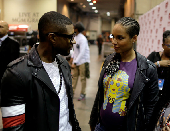 Did Usher and Alicia Keys ever date
