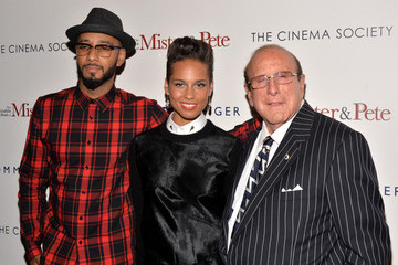 Alicia Keys Clive Davis 'The Inevitable Defeat of Mister and Pete' Screening