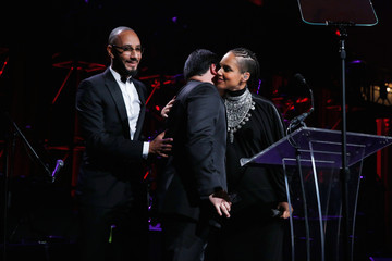 Alicia Keys Inside the Angel Ball in NYC