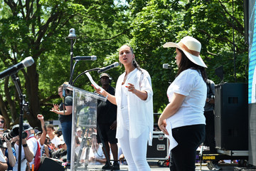 Alicia Keys Families Belong Together Rally In Washington DC Sponsored By MoveOn, National Domestic Workers Alliance, And Hundreds Of Allies