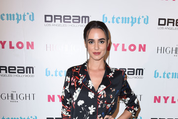 Alicia Sanz NYLON's It Girl Party at the Highlight Room at Dream Hollywood
