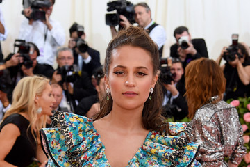 Alicia Vikander The 2019 Met Gala Celebrating Camp: Notes On Fashion - Arrivals