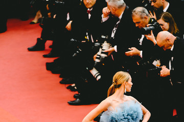 Alina Baikova 'A Hidden Life (Une Vie Cachée)' Red Carpet - The 72nd Annual Cannes Film Festival
