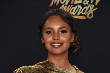 Alisha Boe 2017 MTV Movie and TV Awards - Press Room