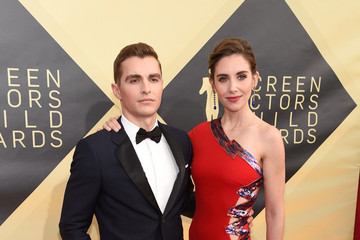 Alison Brie Dave Franco 24th Annual Screen Actors Guild Awards - Red Carpet