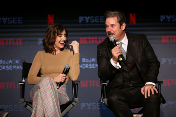 Alison Brie Paul F. Tompkins #NETFLIXFYSEE Animation Panel Featuring 'Big Mouth' And 'BoJack Horseman' - Inside