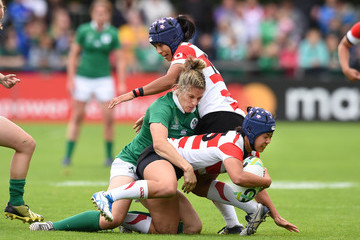 Alison Miller Ireland v Japan - Women's Rugby World Cup 2017