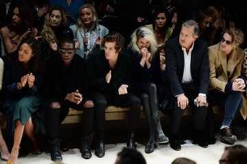 Alison Mosshart Burberry Womenswear Autumn/Winter 2014 - Front Row & Show