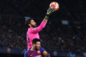 Alisson Barcelona vs. Liverpool - UEFA Champions League Semi Final: First Leg