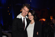 """Ansel Elgort and  Shailene Woodley attend the """"Allegiant"""" New York Premiere After Party at Cipriani 42nd Street on March 14, 2016 in New York City."""