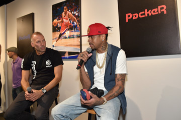 Allen Iverson Reebok, Packer Shoes and Gary Land Team Up to Honor Allen Iverson in New York City
