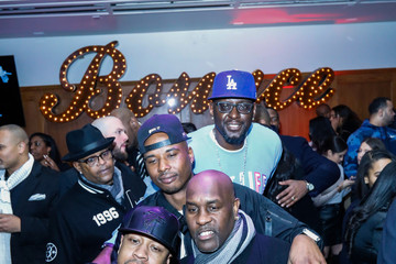 Allen Iverson Darius Miles The Players' Tribune + Heir Jordan Host Players' Night Out At The Royale Party At Bounce Sporting Club In Chicago