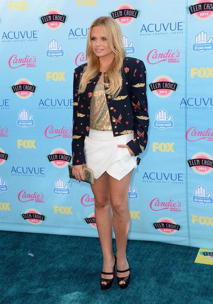 Alli Simpson - Teen Choice Awards 2013 - Arrivals