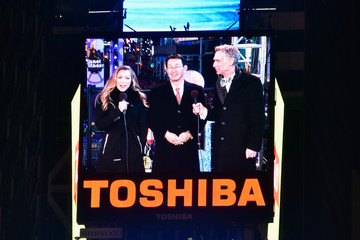 Allison Hagendorf New Year's Eve 2016 in Times Square
