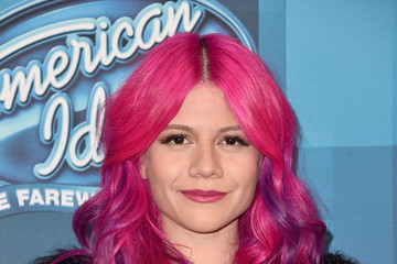 Allison Iraheta FOX's 'American Idol' Finale For The Farewell Season - Arrivals