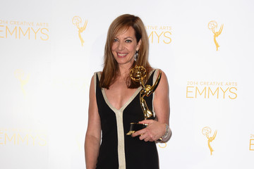 Allison Janney Creative Arts Emmy Awards Press Room
