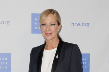 Allison Janney Human Rights Watch Hosts Annual Voices For Justice Annual Dinner