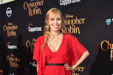 Allison Schroeder World Premiere Of Disney's 'Christopher Robin'