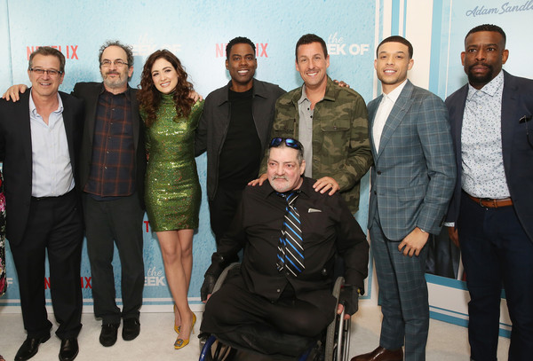 World Premiere of the Netflix Film 'The Week Of' in New York City [the week of,social group,people,event,team,fashion,fashion design,adam sandler,chris rock,allison strong,allen covert,l-r,new york city,netflix,roland buck iii,world premiere]