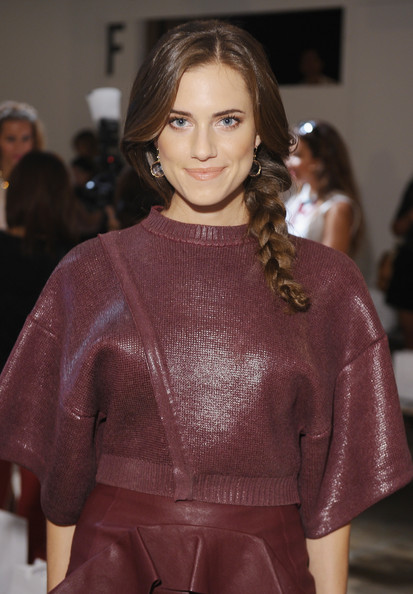 Allison Williams - Peter Som - Front Row - Spring 2013 Mercedes-Benz Fashion Week