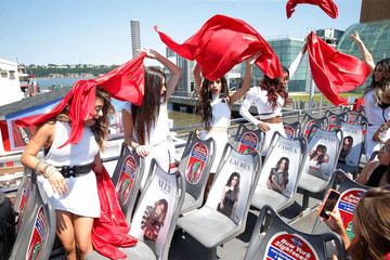 Ally Brooke Camila Cabello Fifth Harmony Honored by Ride of Fame