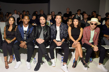Ally Maki The Front Row of Ovadia & Sons at New York Fashion Week
