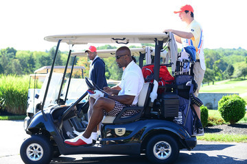Alonzo Mourning Julius Erving Golf Classic