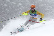Susanne Riesch of Germany competes during the Ladies Slalom second run on day 15 of the Vancouver 2010 Winter Olympics at Whistler Creekside on February 26, 2010 in Whistler, Canada.