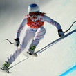 American Julia Mancuso sped her way to Olympic bronze in Alpine Skiing Women's Downhill.