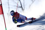 Tessa Worley of France competes during the Ladies' Giant Slalom on day six of the PyeongChang 2018 Winter Olympic Games at Yongpyong Alpine Centre on February 15, 2018 in Pyeongchang-gun, South Korea.