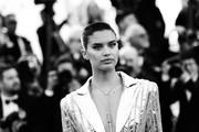 """This image has been digitally altered) Sara Sampaio attends the screening of """"Rocket Man"""" during the 72nd annual Cannes Film Festival on May 16, 2019 in Cannes, France."""