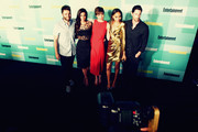 An Alternative View of actors (L-R) Seth Gabel, Janet Montgomery, Elise Eberle, Ashley Madekwe and Iddo Goldberg at The Entertainment Weekly Comic-Con party at Float at Hard Rock Hotel San Diego on July 11, 2015 in San Diego, California.