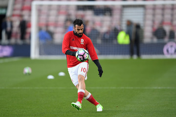Alvaro Negredo Middlesbrough v Sunderland - Premier League
