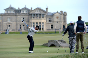 Alvaro Quiros Alfred Dunhill Links Championship: Day 1