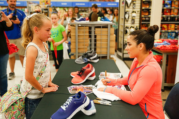 Aly Raisman Aly Raisman Visits Academy Sports + Outdoors — Part 2