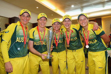 Alyssa Healy England v Australia: Womens Final - ICC World Twenty20 Bangladesh 2014