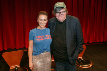 Alyssa Milano Premiere Of Briarcliff Entertainment's 'Fahrenheit 11/9' - After Party