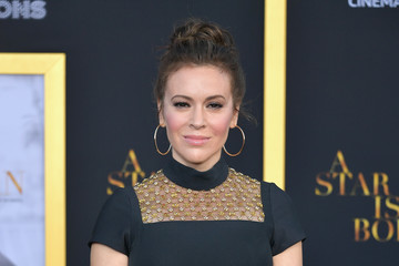 "Alyssa Milano Premiere Of Warner Bros. Pictures' ""A Star Is Born"" - Arrivals"