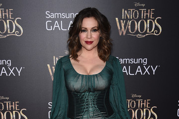 Alyssa Milano 'Into the Woods' Premieres in NYC