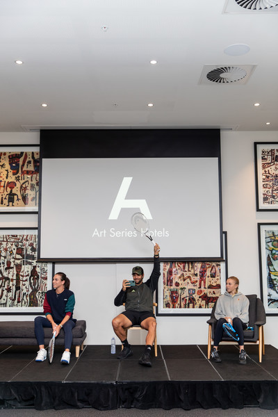 Art Series Hotels Host Life Drawing Class For Australian Open Tennis Stars