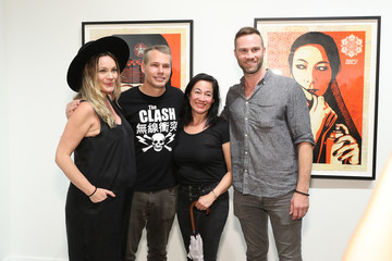 Amanda Fairey Roger Gastman And LL COOL J Host BEYOND THE STREETS Opening Night At 25 Kent