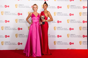 Amanda Holden Virgin TV BAFTA Television Awards - Press Room
