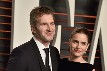 Amanda Peet David Benioff 2016 Vanity Fair Oscar Party Hosted By Graydon Carter - Arrivals