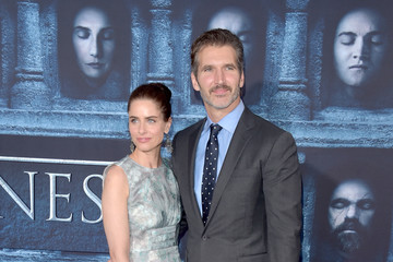 Amanda Peet David Benioff Premiere of HBO's 'Game of Thrones' Season 6 - Arrivals