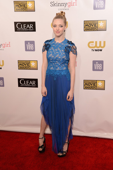 Amanda Seyfried - 18th Annual Critics' Choice Movie Awards - Arrivals