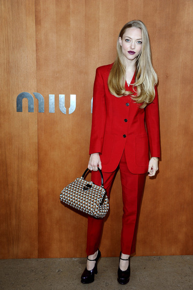 Amanda Seyfried - Miu Miu: Photocall - Paris Fashion Week Womenswear Spring / Summer 2013